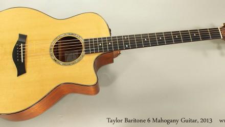 Taylor-Baritone-6-Mahogany-Guitar-2013-Full-Front-View