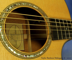 Taylor Baritone Grand Symphony Mahogany 6 String  DISCONTINUED