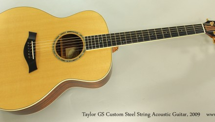 Taylor-GS-Custom-Steel-String-Acoustic-Guitar-2009-Full-Front-View