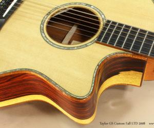 2008 Taylor GS Custom Fall LTD SOLD