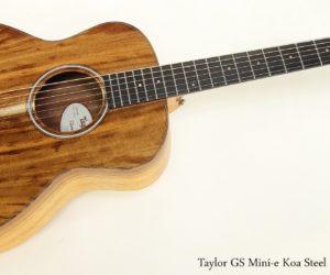Taylor GS Mini-e Koa Steel String Guitar