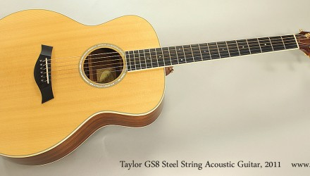 Taylor-GS8-Steel-String-Acoustic-Guitar-2011-Full-Front-View