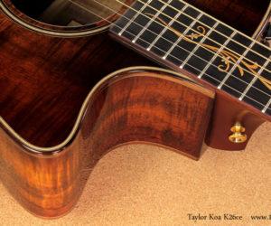 Taylor K26ce Edge Burst SOLD