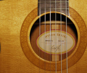 Taylor Cutaway Nylon Left Hand NS32-CE (consignment) SOLD