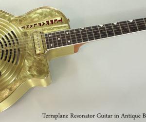 REDUCED 2013 Terraplane Resonator Guitar