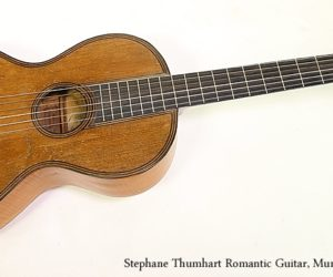 Stephan Thumhart Romantic Guitar, Munich 1820