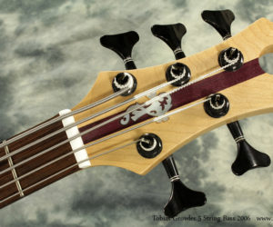 2006 Tobias Growler 5 String Bass (Consignment) No Longer Available
