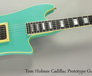 NO LONGER AVAILABLE! Late 1980s Tom Holmes THC Prototype Guitar and Bass