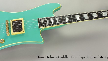 Tom-Holmes-Cadillac-Prototype-Guitar-late-1980s-Full-Front-View
