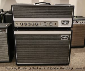 Tone King Royalist 15 Head and 1x12 Cabinet Grey, 2015