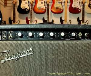 Traynor Signature YGA-1 Combo Amplifier 1966 (consignment) SOLD