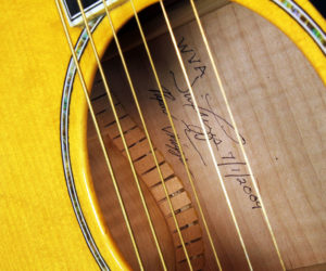 Triggs Acoustic 2009 (Consignment) SOLD