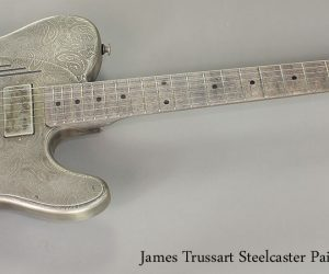 James Trussart Steelcaster Paisley Engraved (SOLD)