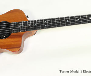 2013 Turner Model 1 Electric Guitar