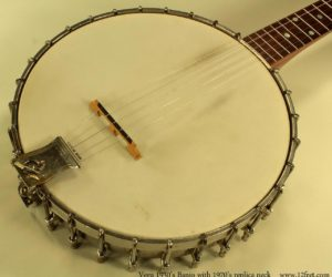 Vega No.2 Banjo 1930's with replica neck - SOLD