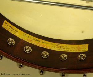 Vega Folklore 22-fret Banjo 1968 SOLD