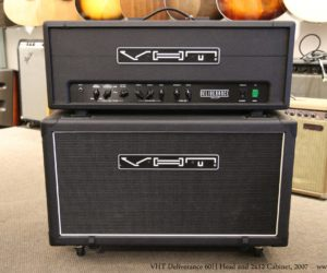 ❌SOLD❌ Fryette/VHT Deliverance 60H Head and 2x12 Cabinet, 2007