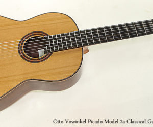 SOLD!!! Otto Vowinkel Picado Model 2a Classical Guitar, 2017