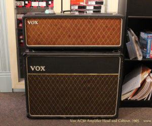 SOLD!!! 1965 Vox AC30 Amplifier Head and Cabinet