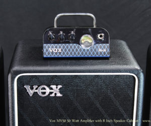 Vox MV50 50 Watt Amplifier AC, Clean, and Rock Paired with BC108 Cabinet