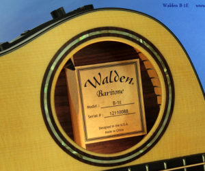 Walden B-1E Baritone Acoustic Electric - Just In!