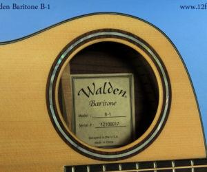 NO LONGER AVAILABLE! Walden Baritone B-1 Acoustic Guitar