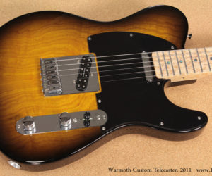 2011 Warmoth Custom Telecaster No longer available