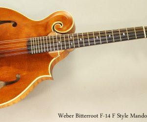 2011 Weber Bitterroot F-14 F Style Mandolin  SOLD
