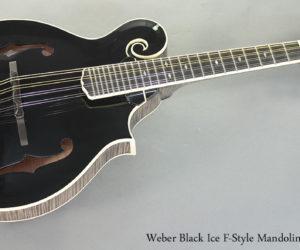 Weber Black Ice F-Style Mandolin
