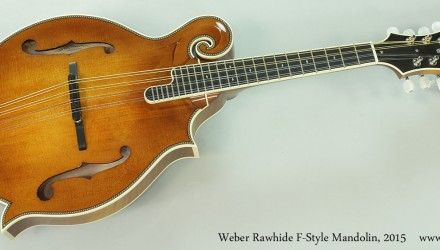Weber-Rawhide-F-Style-Mandolin-2015-Full-Front-View