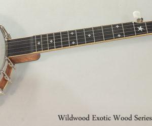 Wildwood Exotic Wood Series Banjo
