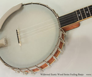 Wildwood Exotic Wood Series Frailing Banjo