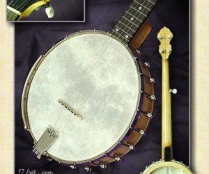 Wildwood Minstrel Old Time Frailing Open-back Banjo