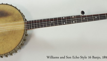 Williams-and-Son-Echo-Style-16-Banjo-1895-Full-Front-View