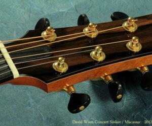David Wren Concert 'Sinker' Redwood and Macassar, 2012 (consignment)  SOLD
