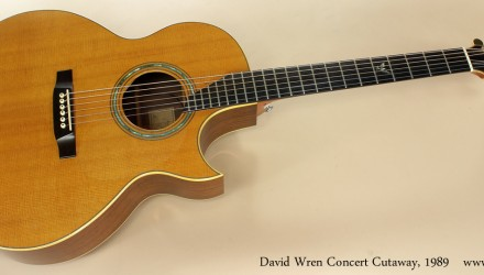 David-Wren-Concert-Cutaway-1989-full-front-view