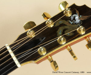 1989 David Wren Cutaway Acoustic (consignment)  NO LONGER AVAILABLE