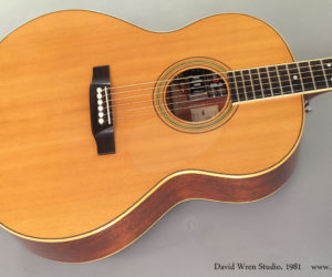 1981 David Wren Studio Guitar (consignment)