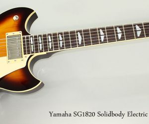 SOLD!!! 2011 Yamaha SG1820 Solidbody Electric Sunburst