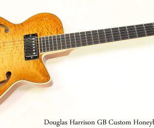 Harrison GB Custom Honeyburst, 2015