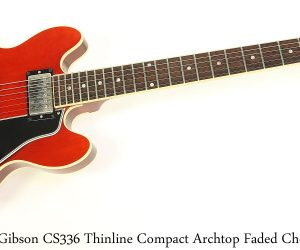 Gibson CS336 Thinline Compact Archtop Faded Cherry, 2004