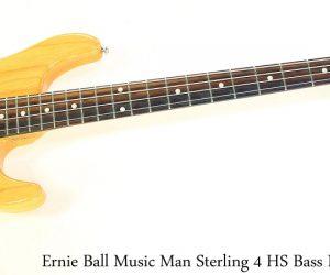 Music Man Sterling 4 HS Bass Natural, 2006