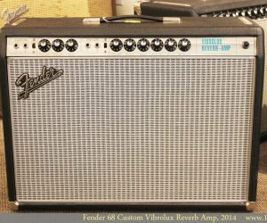 Sold! Fender 68 Custom Vibrolux Reverb Amp, 2014