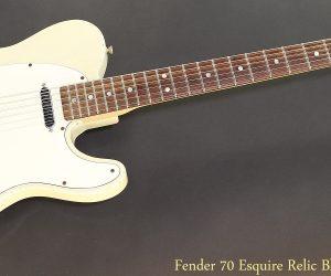 Fender 70 Esquire Relic Blonde, 2008