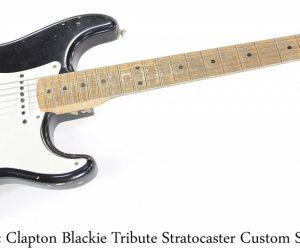 Fender EC Blackie Tribute Stratocaster Custom Shop, 2006
