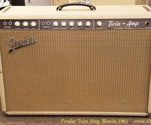 Fender Twin Amp Blonde 1962
