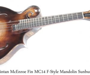 Fin MC14 F-Style Mandolin Sunburst by Fintan McEnroe, 2021