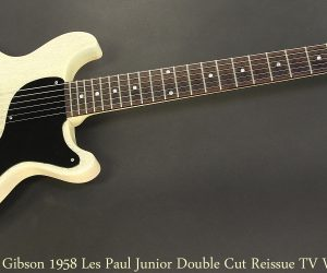 Gibson 1958 Les Paul Junior Double Cut Historic Reissue TV White, 2004
