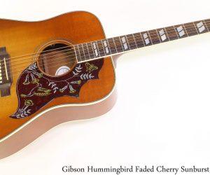 Gibson Hummingbird Faded Cherry Sunburst, 2007