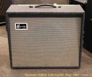 ❌SOLD❌  Harmony H305A Tube Combo Amp, 1960